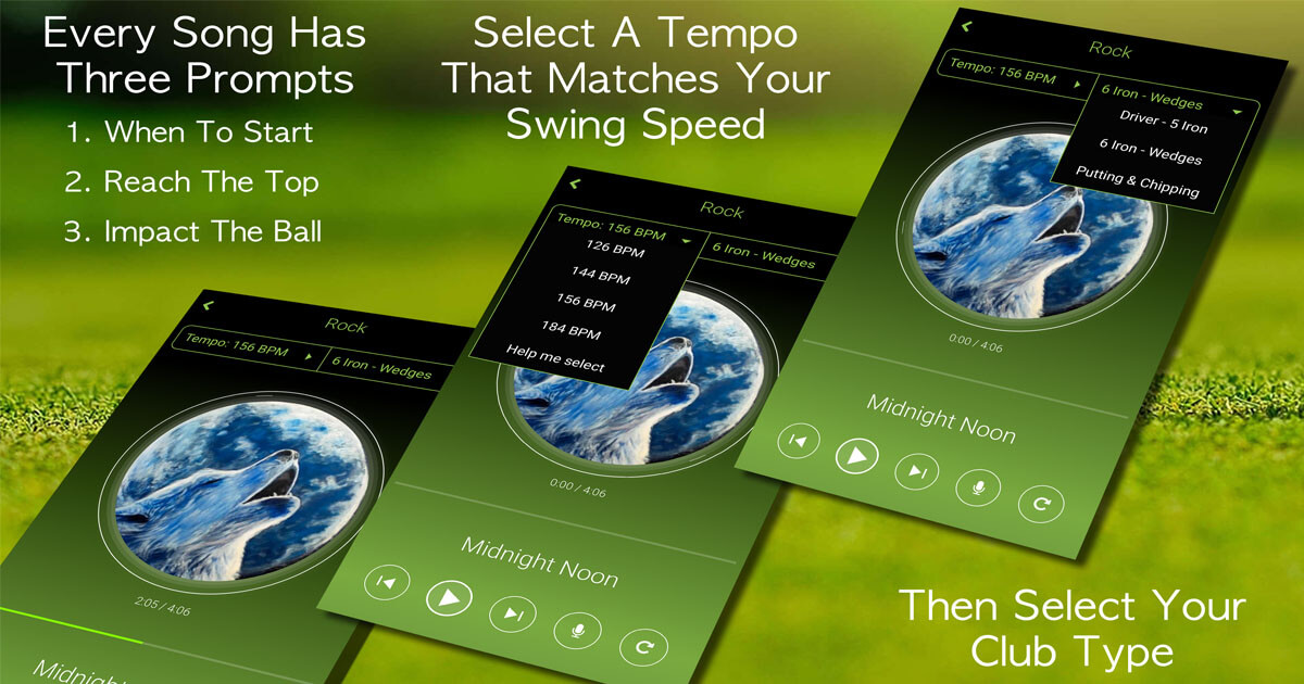 How to use our App to improve your swing rhythm, tempo & timing