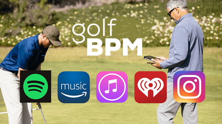 Golf BPM Music Streaming