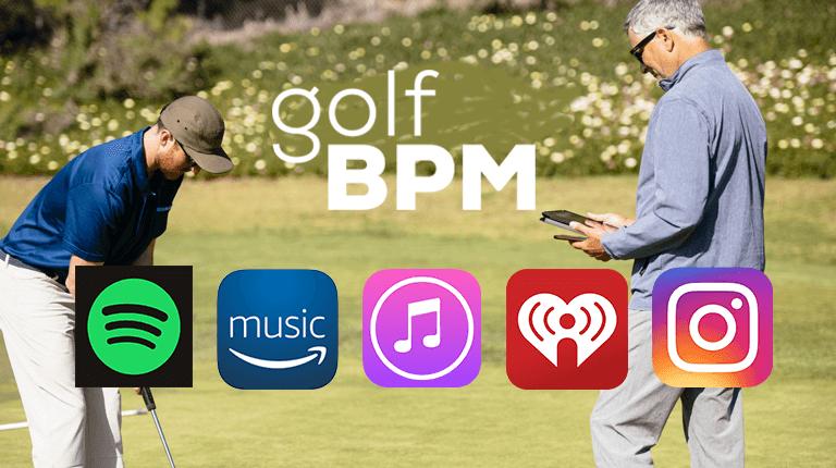 Golf BPM Music Streaming
