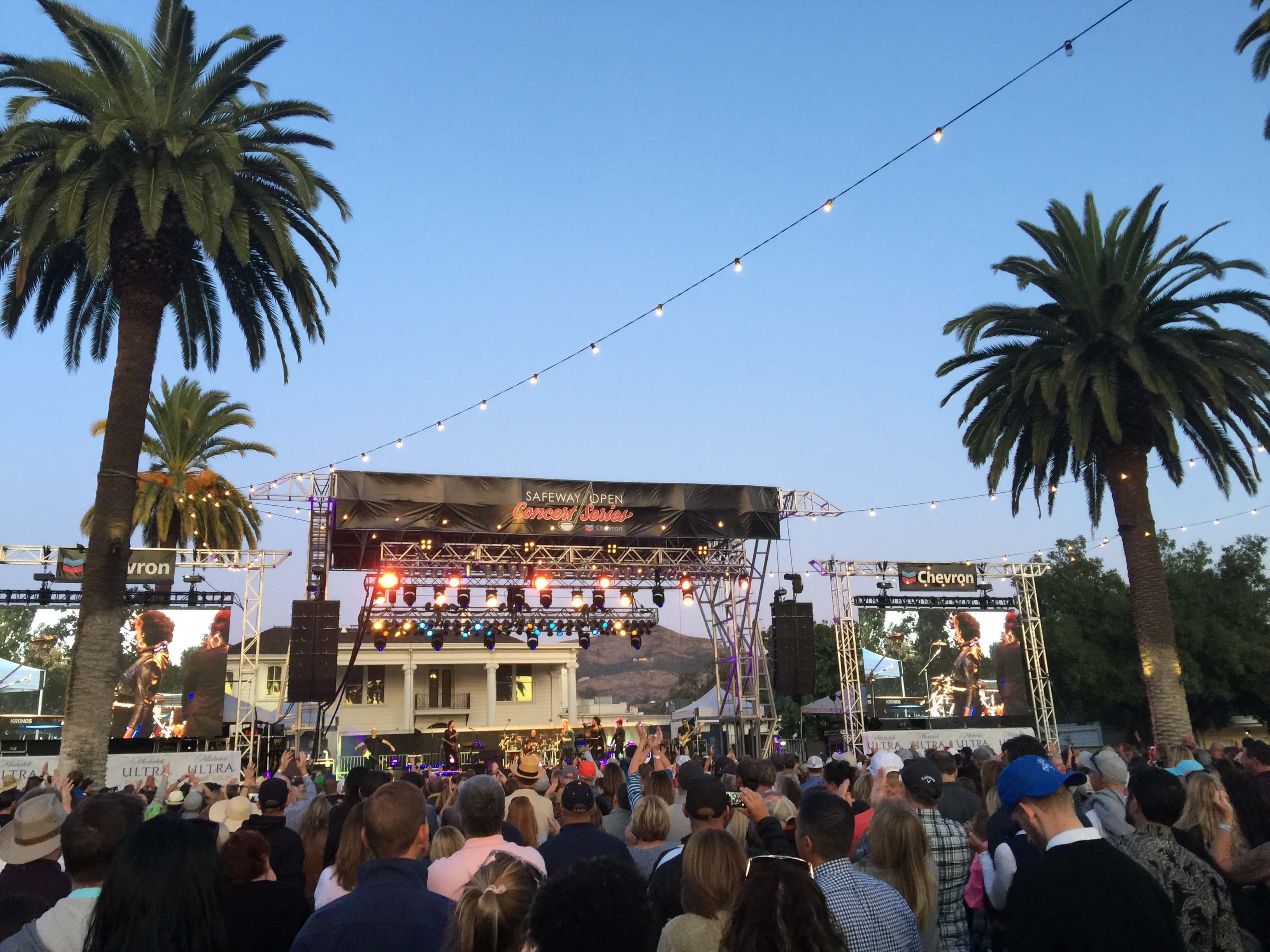 Golf Music Concert at The Safeway Open