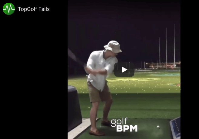 TopGolf Fail Compilation