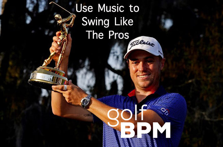 Justin Thomas Swing to Music at The Players Championship