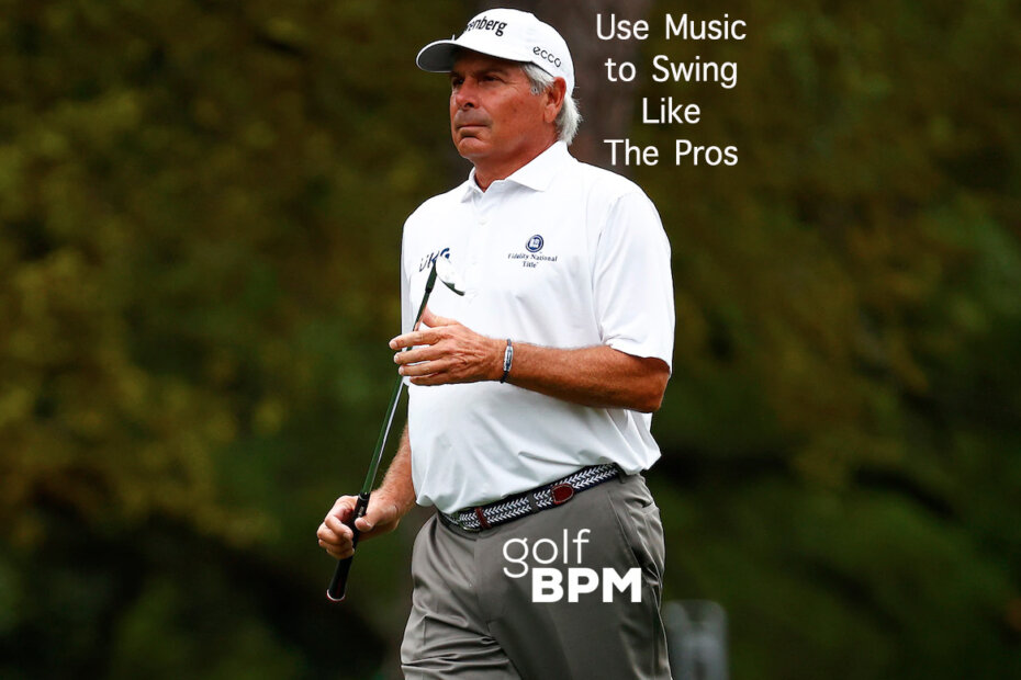 Fred Couples Swing Tempo to Music