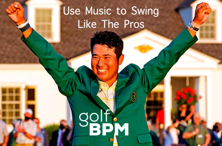 Hideki Matsuyama 2021 Masters Champion - Shots to Music (Golf Music for Perfect Tempo)