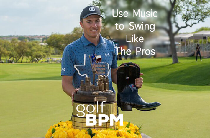 Jordan Spieth approach shots at the 2021 Valero Texas Open to Music (Golf Music for Perfect Tempo)
