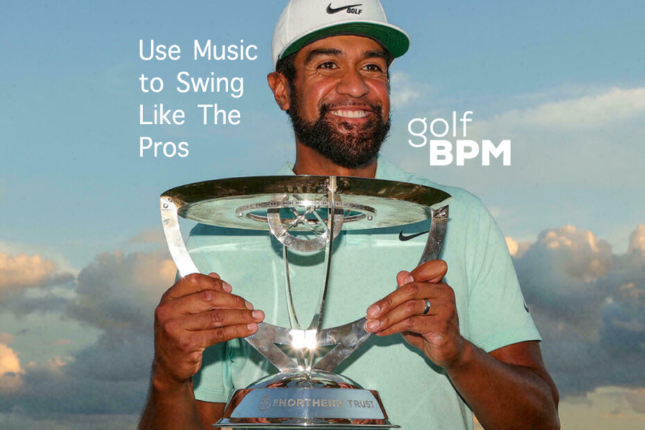 Tony Finau Golf Swing to Music